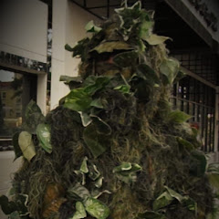 creepy bushman