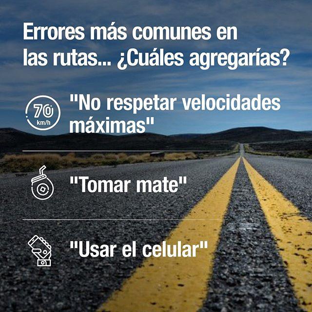 ¿Qué otros errores son comunes en la ruta? . . . #Ruta #Viaje #Errores #SeguridadVial #VelocidadMáxima #Mate #TOTAL #TOTALQuartz #Aceite #Aceitedemotor #CambiodeAceite #Manejo #Auto