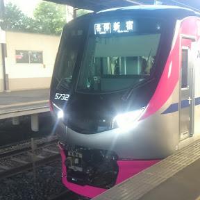 keio train channel kyuri.京王鉄道チャンネルkyuri号