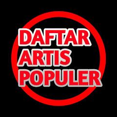 Daftar Artis Populer