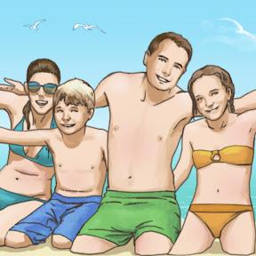 Влоги / Семья на Море