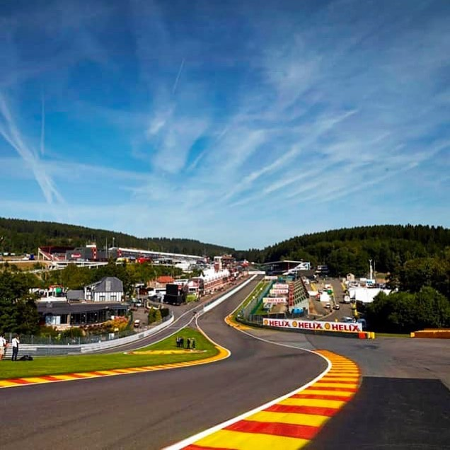 Only 8 weeks and I'm back here for some 24 hours action 👍🏼 #shakenbake #motorsport #spa #spafrancorchamps #24hrace #c1racing #spa24hours
