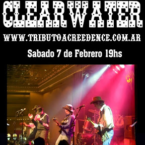 CLEARWATER Tributo a Creedence