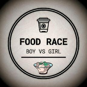 Food Race Boy vs Girl
