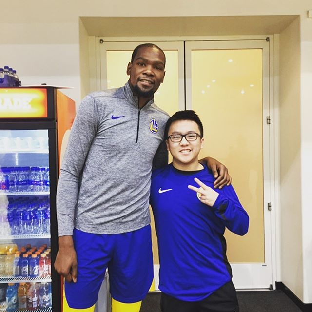 happy to announce im signing with the Brooklyn Nets (professional waterboy) with my boy KD