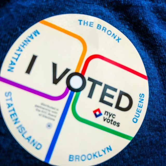 Whether you agree or disagree with the current direction... If you're happy... If you're unhappy... Or somewhere in between... Please vote.  Always vote.  Period.