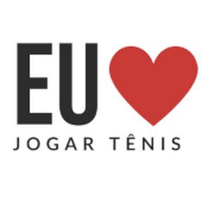 Eu amo jogar tênis