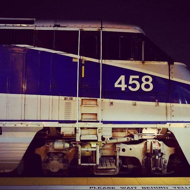 AMTK 458 making the final trip on the Southwest Chief.  #Amtrak #pacificsurfliner #emd #f59phi #p42dc #swc #southwestchief  #rail_barons #daily_crossing #railfanning #railways_of_our_world #trb_express #trains_worldwide #railfans_of_instagram #railways_of_america #railroadphotography #train_nerds
