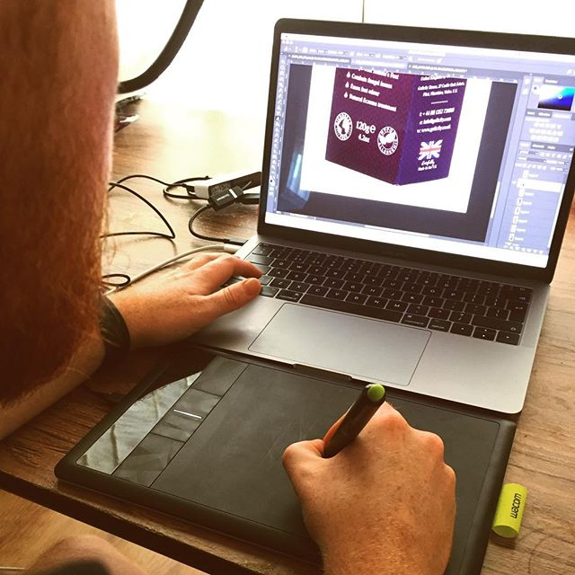 You know it's serious when you crack out the graphics tablet. Feat.Gav'sbeard. . . . #wacom #wacomtablet #editing #photoshop #digitalmarketing #photoshoot #digitalcontent #digitalcontent #business #videographer #videography #smallbusiness #wales #northwales #photography #photo #photographer #videographycompany #video #beard #mac #apple #adobe