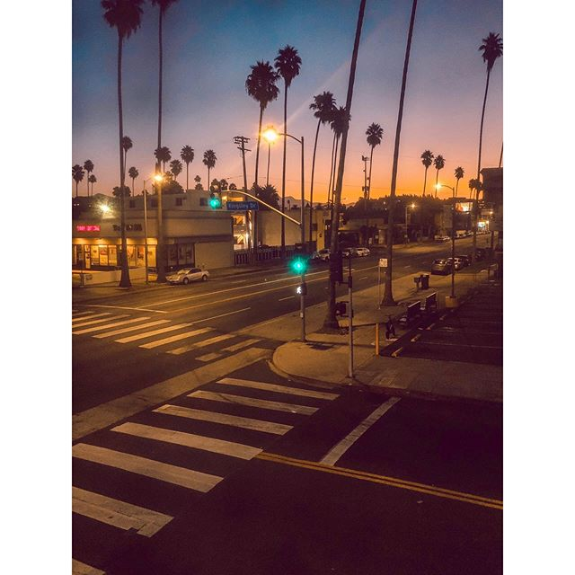 Sunrise in Sunset Boulevard, Hollywood😍🌇 • • • #losangeles #love #california #la #fashion #instagood #photography #art #model #hollywood #music #photooftheday #style #fitness #beautiful #beauty #artist #usa #picoftheday #follow #travel #life #summer #motivation #hiphop #repost #happy #makeup #instagram #cute
