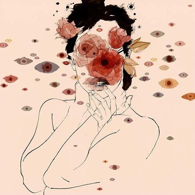 """""""Y después de un tiempo uno aprende que si es demasiado, hasta el calor del sol quema. Así que uno planta su propio jardín y decora su propia alma,"""" -Jorge Luis Borges"""