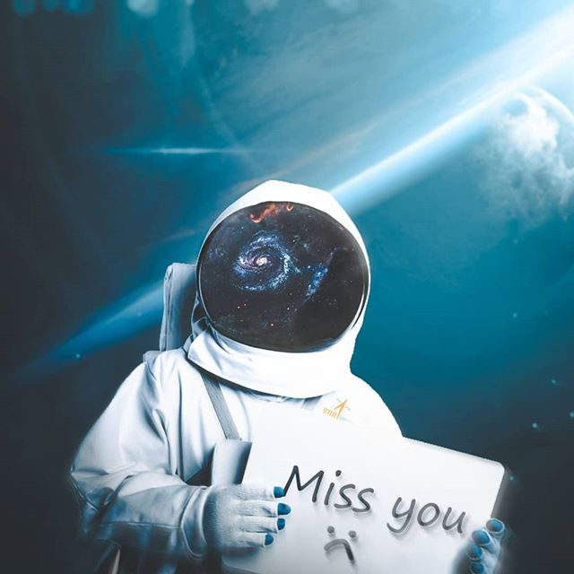 Miss you 🌀😁🌠 Artwork by: @8thunreal _ _ _ _ _ #space #visualart #visual_creatorz #earthpix  #theuniversalart #spacelovers #complexphotos #launchdesigns #eclectic_shotz #photoshop #enter_imagination  #19skillz #hsdailyfeature #creativeoptic  #manipulation #creartmood  #edit_perfection #discoveredit  #digitallyart #discoveredit #bennyreview