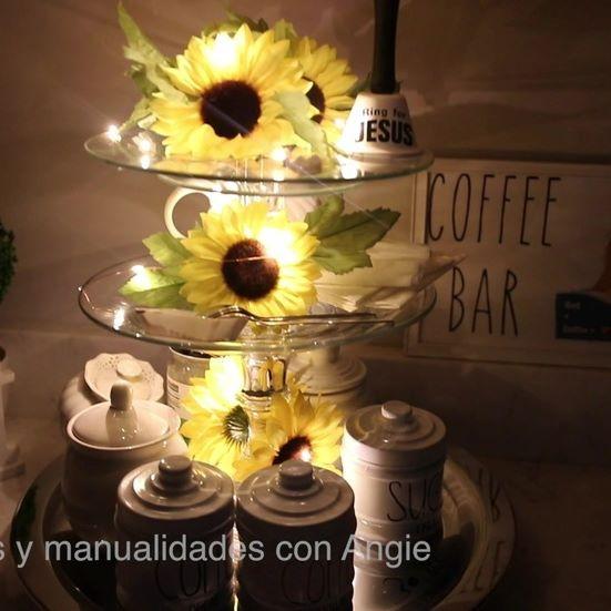 Como hacer un area para el cafe o té video completo en mi canal en youtube https://youtu.be/ks45z6d-lsc