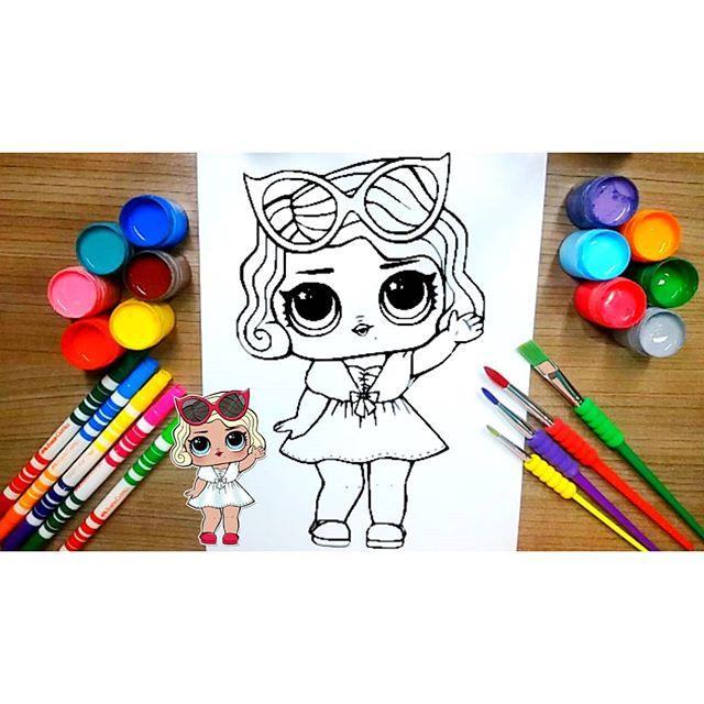 Olá meus amores!!! Estamos com esse vídeo lá no canal colorindo com tinta guache um desenho da boneca lol O LINK DO CANAL ESTÁ NA BIO DO INST.#desenhos #lol #bonecalolsurprise #colorir #color #canalinfantil #amocolorir #paracrianças