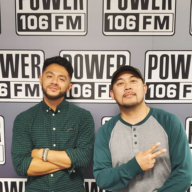 @power_106 x @zen x @newjerseysets ⚡ Thanks to @djeman the for the hospitality and @djerock for the assist. Always a blessing to work with the best in the industry. 👊🏼 #NewJerseySets #JERSEYCREATORS #Power106 #power106allstars