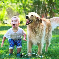 kids and dogs funny