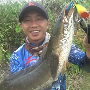 câu cá lóc Tây Nguyên