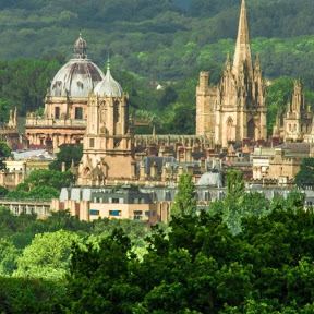 Моя жизнь в Англии.Oxford