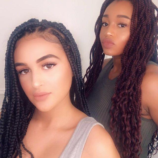 Y'all already know what summer it is 😈 #braidsseason#braidsgang#hotgirlsummer#summermood#gobestfriendthatsmybestfriend#mocha#caramel#brownsugar#africanbaddies#nonewfriends#myhitta#rideordie#blessed#thankful#goodtimes#love