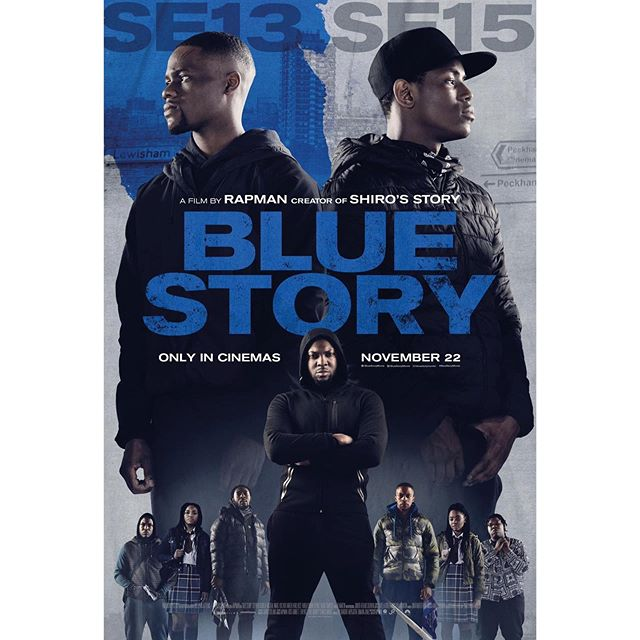 Boom! The offical poster for #bluestory just dropped. Get ready for it's official release in cinemas on the 22nd of November this year!! A truly unreal moment for all of us. Shout out to my bro @realrapman for always keeping it real! Usual suspects also include @jonathondeering @david_witchell @eldoradovisuals @peacheymckeitch. Massive shout out to @leopoldnaessens @louisvella01 and @lewis_ac for being absolute legends on this too. Here's to many more 😬🙌❤️.. #aukesmedia #filmmaking #anaukespicture #filmmaker #videoproduction #filming #dslr #video #director #directorofphotography #cinematographer #musicvideo #cinematography #DOP #director #gang #rapman #bluestory #paramount #bbc