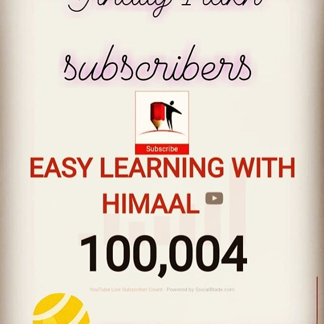 Finally my channel crossed 1 lakh subscribers.  Thanks to all my viewers. Silver Play Button is coming home 😍😍😍😍😍😍😍😍😍😍😍😍