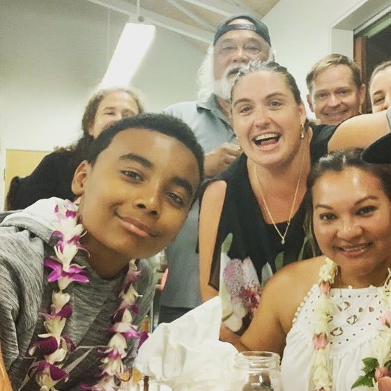 NEW BLOG: Last month, Lee Johnson (on the right wearing a cap), plaintiff in the first (historic!) #Roundup trial, came to Hawaii. He spoke to rooms full of concerned citizens, and as a result of his meeting with school district officials, Hawaii public schools will be going #pesticide-free! This is huge. ▶️▶️ Read our recap of what happened when the man who beat #Monsanto visited #Hawaii >> [[LINK IN BIO]]💪🏾