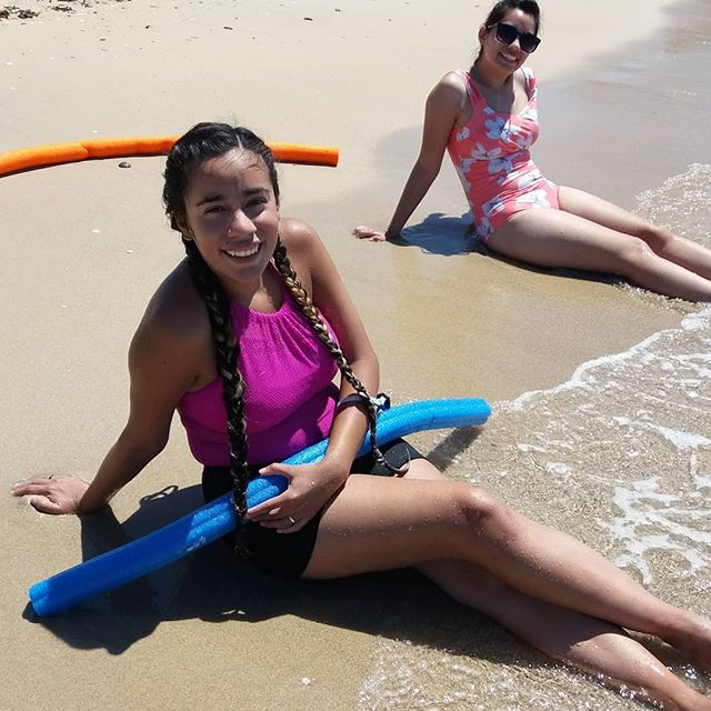#twinsbirthday #were26yearsold #greatbirthday #beach #mermaid #poolfun