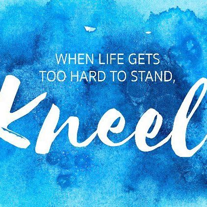 """When life gets too hard to stand, kneel."" #faith #prayer #pilgrimage #holyland #prayforpeace #hlfpilgrimages"