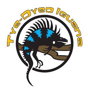 Tye-Dyed Iguana