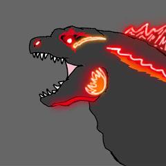 Dajira Godzilla or Bloodscar Godzilla