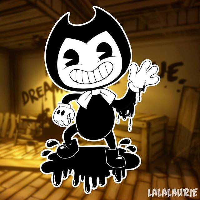 In celebration of my new #speedpaint video posted on my #igtvchannel (Go check it out if you haven't already!!!) here is the final product! It's #bendy from #bendyandtheinkmachine 💕 A lovely friend of mine commissioned this awhile back but seeing that is #spooky season I thought it'd be fitting to post! Enjoy! #digitalart #art #artistsoninstagram #artist #lalalaurie