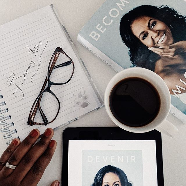 If you don't get out there and define yourself, you'll be quickly and inaccurately defined by others... #becomingmichelleobama #becoming #bookstagram