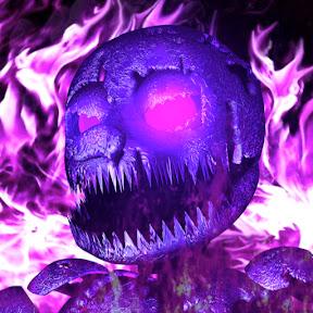 Purple Mascot