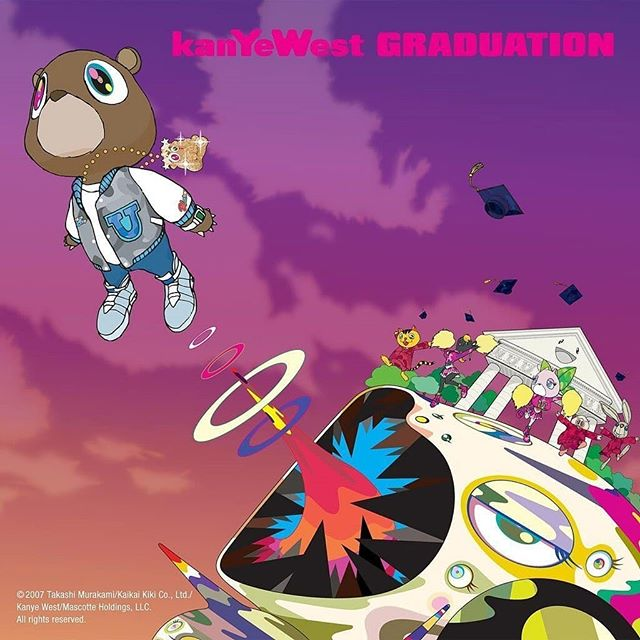 "Kanye West Graduation ""Shieeet they say the best things in life are free""🙏 . . . #kanyewest #kanye #chicago #graduation #hiphop #yeezy #yeezus #mrwest #ye #yeezys #yandhi #drake #goodlife #sundayservice #rap #music"