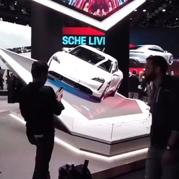 Der Porsche Stand auf der #IAA2019