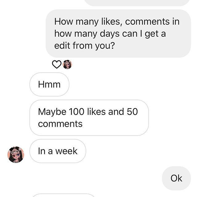 CaN wE mAkE iT? BtW pLeAsE gO fOlLoW @_snailerusu_  uwu 💕 Sharing is appreciated 🍓 #sharingisappreciated #howmanylikeschallenge #howmanycommentschallenge #canwedothis #1week #100likes #50comments #challenge