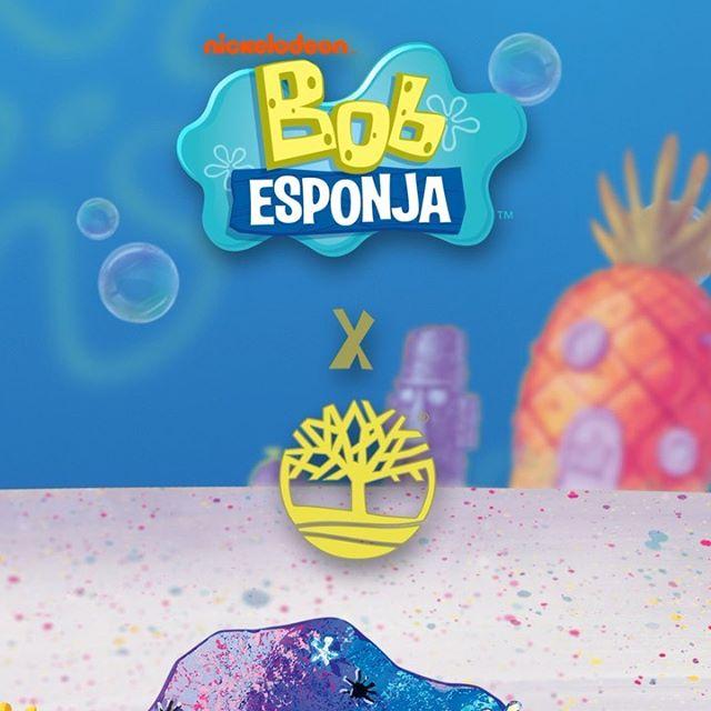 ¡Sumérgete con nosotros hasta el Fondo de Bikini!  A partir del 13 de septiembre. Una exclusiva de @liverpool_mexico y Boutiques Timberland.  #BobEsponjaXTimberland #timberlandmx#timberland #BobEsponja #SpongeBob
