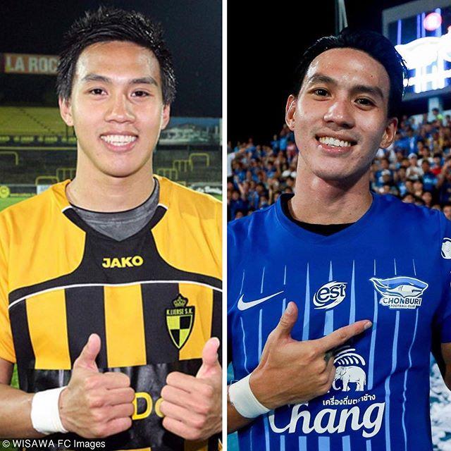 ถ้าหนูเกิดทันหนูจะไม่สงสัยเลยว่าทำมัยผู้ชายคนนี้ถึงมีแฟนคลับมากขนาดนี้ #ยุคนึงที่เขาเคยเป็นเบอร์1ของทีมชาติไทย ผู้บุกเบิกสตั๊ดข้างละสี @leesawls14 ⚽️ #leesaw #LS14 #ลีซอ #player #football #manofthematch #วิศวะfc #wisawafc