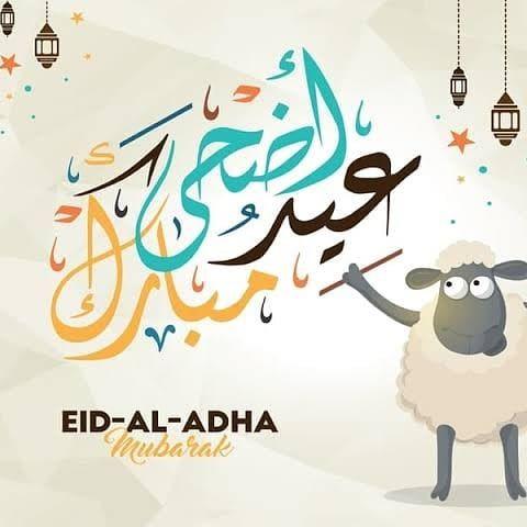 عيد أضحى مبارك لكل الأصدقاء والأحباب ، كل عام وأنتم بألف خير 💙