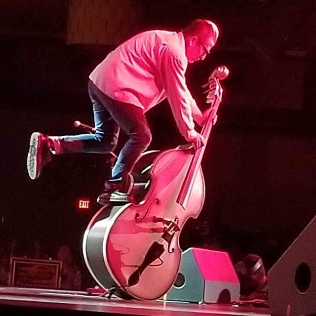 Bass climbing