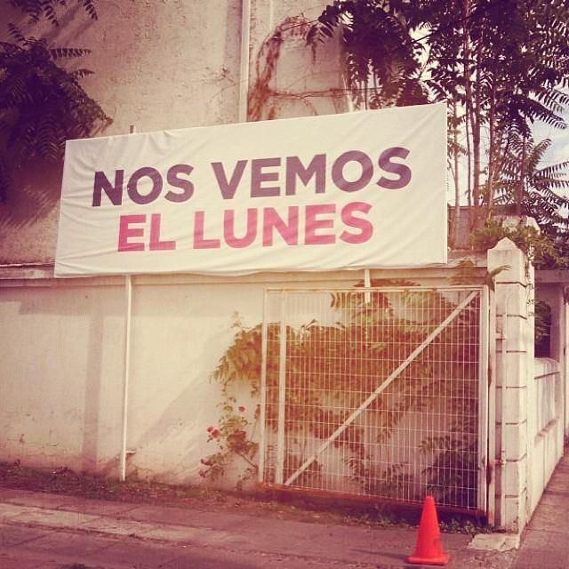 Nos vemos el lunes #Elecciones2013