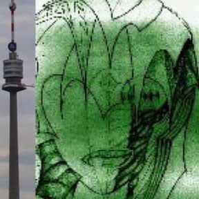 Zeitraffer vom Donauturm in Wien im Februar 2014 mit Blick Richtung Süd - danke an funknetz.at