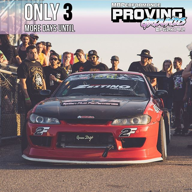 @mapprovinggrounds is only 3 Days away! Click the link in the bio to learn more about one of the biggest import car events in the midwest!
