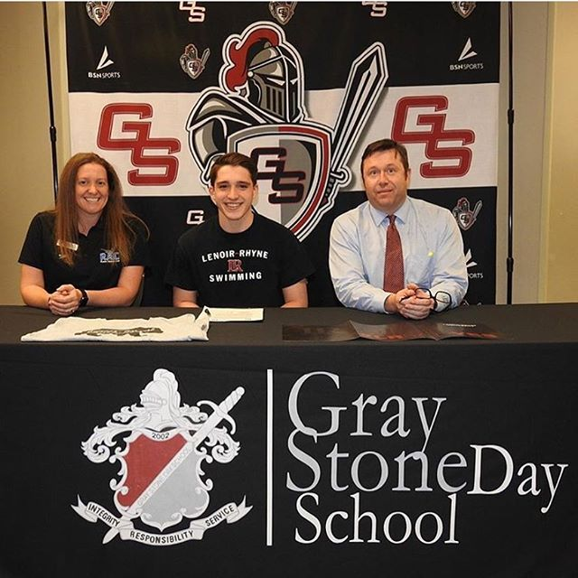 Our next incoming freshman is Reilly Ploplis!  Reilly is graduating from Gray Stone Day School in Misenheimer, NC. We are excited to have him join us this fall! 🐻