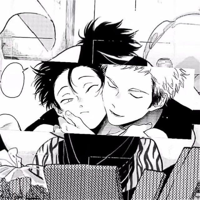 hey momo i really love you and i miss you a lot. . song: nobody - mitski manga: Yatamomo cr: @jaerism tags: #yatamomo #yatamomoedit #yaoimanga #yatamomomanga