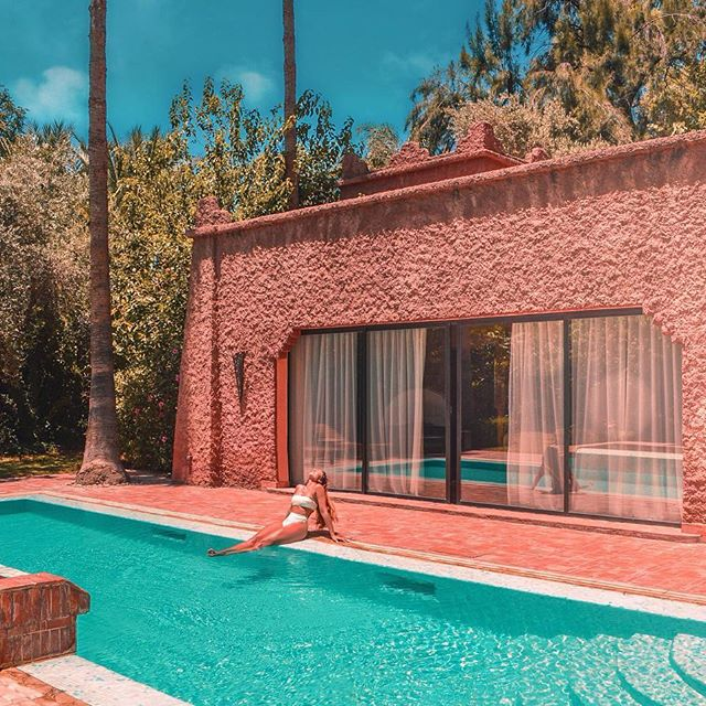 'It's tan o'clock, who's in?😌 I could just do this alllll day💁♀️ Loved this villa @essaadimarrakech 💦 ~ ~ #doyoutravel #traveladdict #travelawesome #travelgram #travelbook #traveldiaries #travelnow #travelgirls #dametraveler #journeysofgirls #sheisnotlost #travelwomen #creativetravel #aroundtheworld #tagsta_travel #lifewelltravelled #beautifuldestinations #livingplaces #worldlust #wanderlust #wanderer #exploringtheglobe #morocco #marrakech #visitmorocco #passionpassport #letsgoeverywhere #travelcommunity #travelphotography