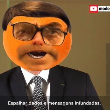 Esse aqui é o Laranjito Minto em seu primeiro pronunciamento com #panelaço  #humor #comédia #bolsonaro #mito #minto #paródia #pronunciamento #amazonia #prayforAmazonia