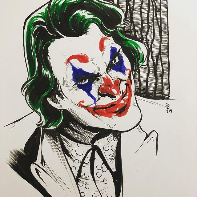 Saturday sketches.. #joker #daredevil #gambit #marvel #dc #coringa #demolidor #xmen #superhero #villains #pen #sketches #art #inks #illustration #batman #gotham #joaquimphoenix #toddphillips