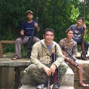 air gun sumatra indonesia