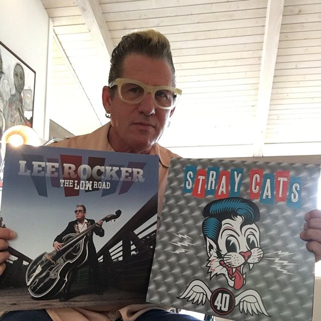 #straycats #straycats40 #rockabilly New new Lee Rocker album and new Stray cats album! Available at www.leerocker.com and www.straycats.com #vinylrecord #vinylrecords #rockabillymusic #bassplayermag #stringbass #rockandrollhalloffame